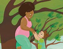 Toddler Tree Pose