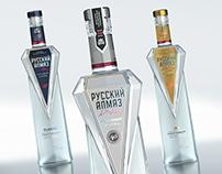 vodka Russian Almaz
