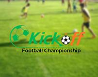 Kickoff Football Championship - Branding