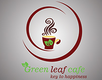 Green leaf cafe (Logo)