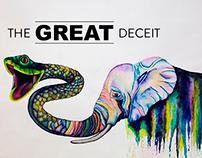 metamorphosis (elephant & snake)