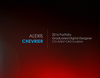 CHEVRIER Alexis 2016 Portfolio