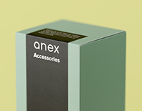 Packaging for Anex Accessories