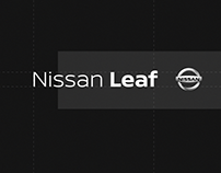 Nissan Leaf — Typography Motion Design