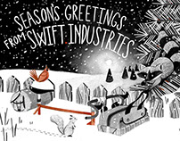 Swift Industries Holiday Card