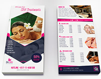 Spa Lovers DL Flyer Template