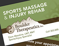 Boulder Therapeutics Marketing Materials