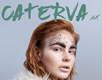 PIROTECNIA CATERVA COVER MAGAZINE /BEAUTY EDITORIAL