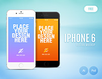 Free Iphone 6 Vector Mockup