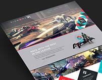 Destiny Sparrow Racing Website Design
