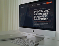 Eventry - Conference & Event HTML5 Landing Page Templat