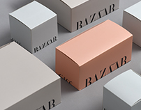 Packaging collection for Harpers Bazar Cafe, Dubai