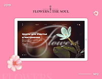 FLOWERS for THE SOUL   UX/UI   Landing page