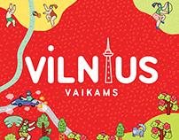 Vilnius Map for Children