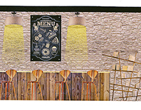 Cold-Pressed Organic Juicery Branding & Interior Design