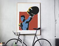 Muhammad Ali | Sketch, illustration & print
