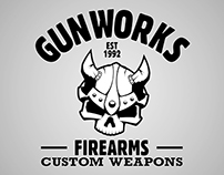 Shirt design for GunWorks.hu
