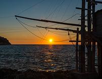 Sunset Trabucco