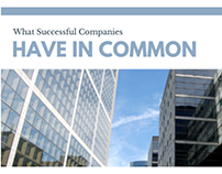 what successful companies have in common