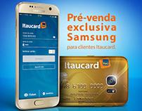 Itaucard :: Pré-venda exclusiva Samsung