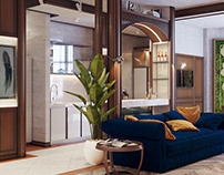 Apartment in Kiev 3d visualization