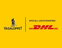 Vasaloppet delivered by DHL
