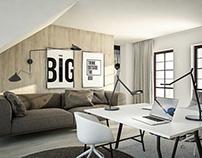 Interiors VII - Apartment in Poznań