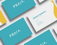 Praia Connect - Branding Logo