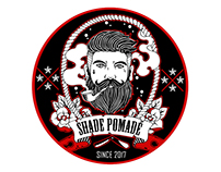 SHADE POMADE LOGO DESIGN