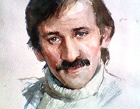 Портрет Леонида Филатова