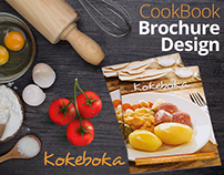 CookBook Recipe Brochure Design by Swan Media