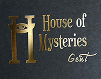House Of Mysteries Branding