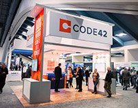 Code42 RSA Booth Design