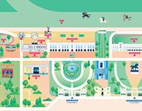 Mappa Ippodromo Snai San Siro