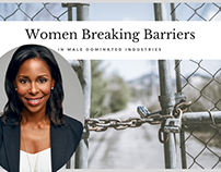 Women Breaking Barriers in Male-Domainated Industries
