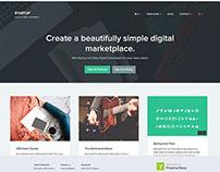 Startup - A WordPress Marketplace theme by Array