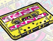 90's Gadgets Sticker Pack