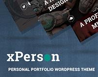 xPerson – Personal Portfolio WordPress Theme