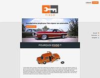 Web design for client : Fixso
