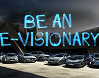 BMW ICSS Pitch - BE AN E-VISIONARY