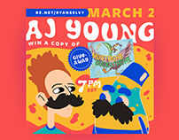 TONIGHT! AJ Young