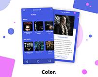 Daily UI - Streamin TV