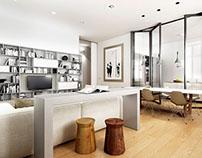 Render Aus01 Apartment No.3 in Turin