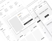E-commerce Wireframe / in parts