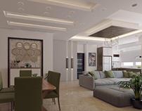 livingroom & kitchen design