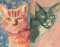 Cat Portraits!