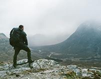 Scotland hiking (2016)