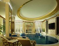 Classic interior pool