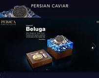 UI/UX design for persca website