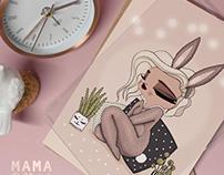 Cocooning • Illustration